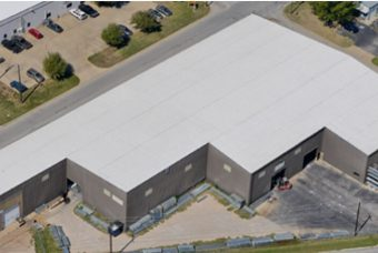 New commercial roof project in OK