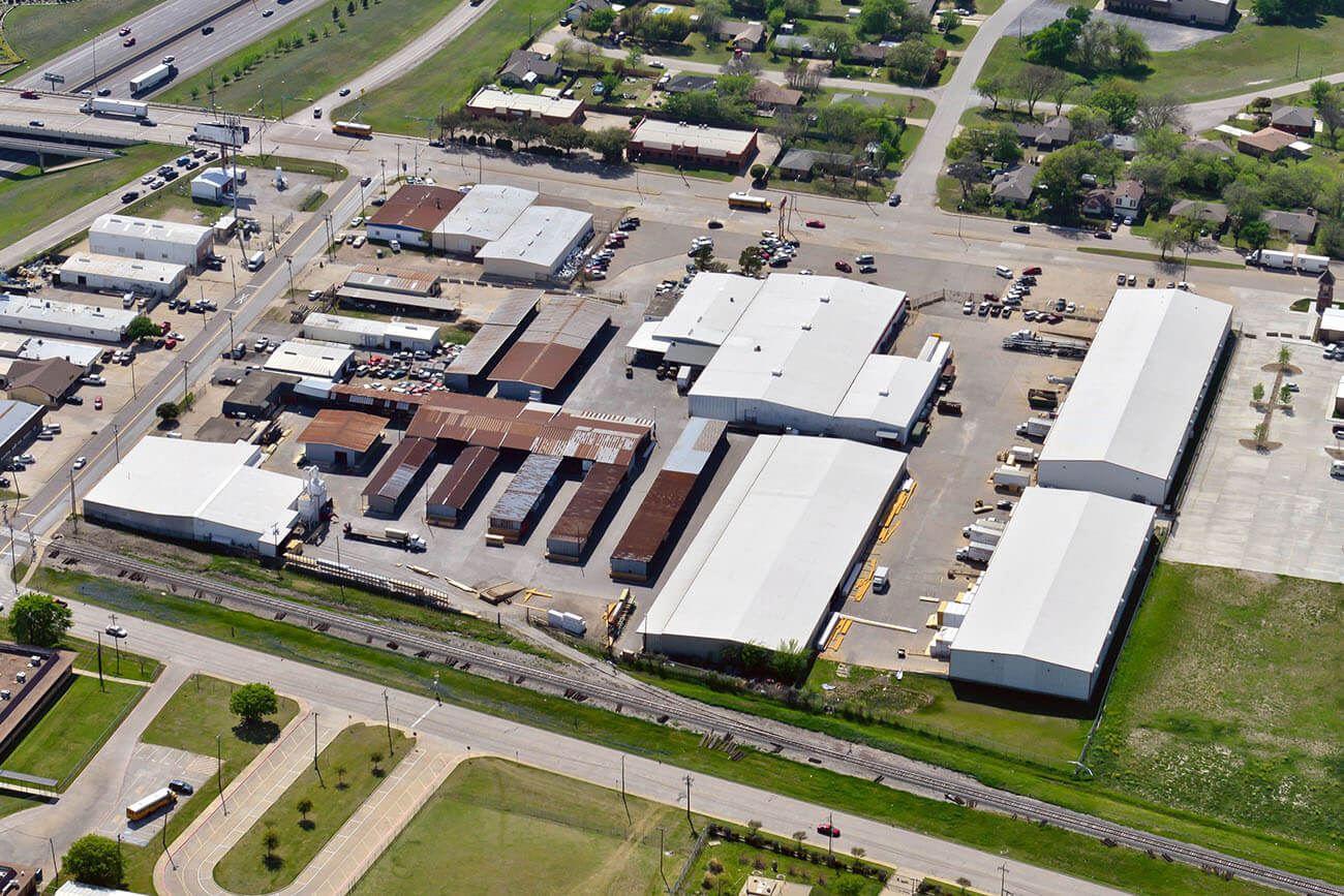large commercial roofs of texas