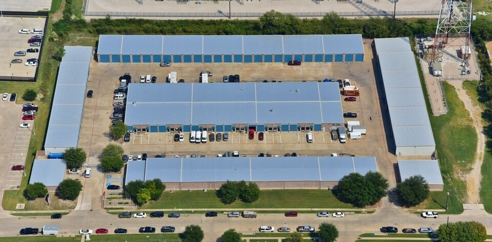 New commercial roofing project in Dallas