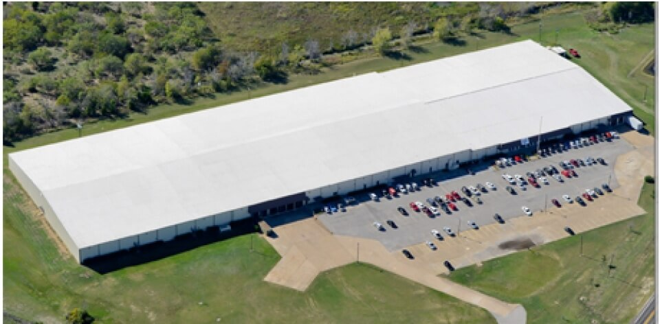 New commercial roof in dallas, TX