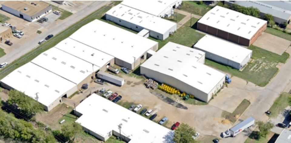 Business with new commercial metal roofing project in OK
