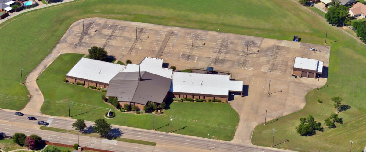 new commercial roof restoration project in dallas