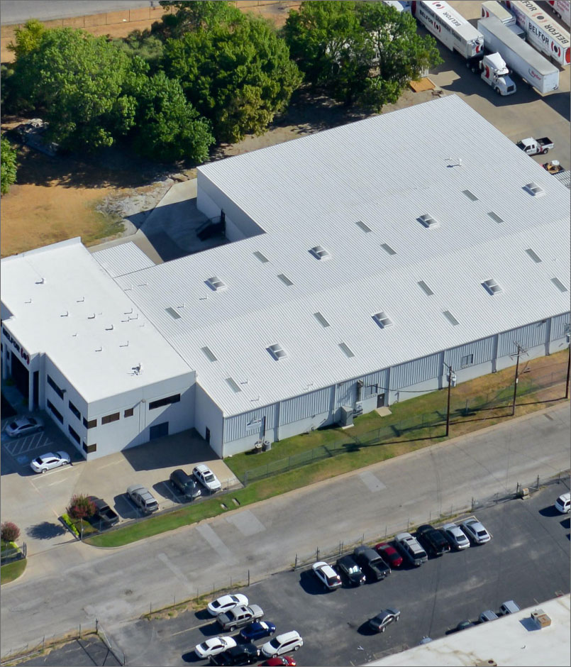 new commercial roof in dallas texas